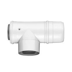 Отвод 80/125 90* с ревизионным люком Bosch AZB609/1