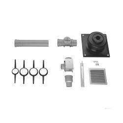 Комплект труб для прокладки в шахте Bosch 80 AZB614/1