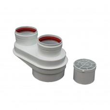 Адаптер раздельного дымоудаления Bosch 80/125-80/80 AZB823