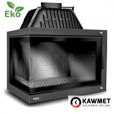 Каминная топка KAWMET W17 DEKOR с левым боковым стеклом (16.1 kW) EKO