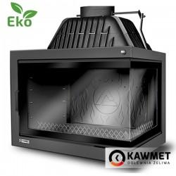 Каминная топка KAWMET W17 DEKOR с правым боковым стеклом (16.1 kW) EKO
