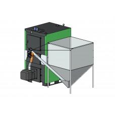 Автоматический твердотопливный котёл PELLET MAX 99 кВт