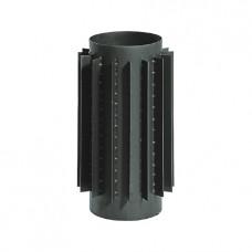 Труба радиатор для дымохода KAISER PIPES L=100 см