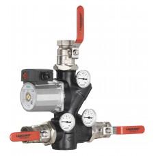Термостатический смесительный узел Laddomat 21-100, R32, WILO RS25-7