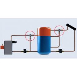 Термостатический смесительный клапан Laddomat 11-30 FDV, R25