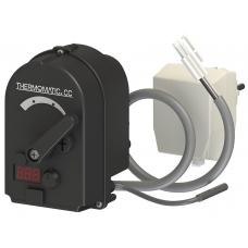Привод (сервомотор) с контроллером Laddomat Thermomatic СС 2.0 для смесительных клапанов
