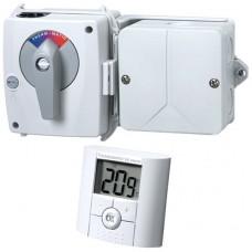 Регуляторы дополнительного смесительного клапана Thermomatic EC Home WL 2K для 2-го контура с беспроводным комнтным датчиком