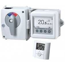 Регуляторы смесительного клапана Thermomatic EC Home WL с беспроводным комнатным датчиком