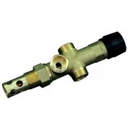 Regulus DBV-1 95°C 3/4 в изоляции, двухходовой термостатический клапан перегрева