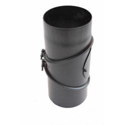 Дымоходное колено (отвод) KAISER PIPES (2мм) трёх-сегментное, поворотное от 0-90 гр