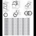 Дымоходное колено (отвод) KAISER PIPES (2мм) четырёх-сегментное, поворотное, универсальное